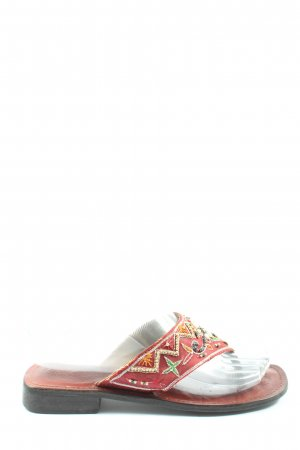 Buffalo Flip-Flop Sandals red casual look