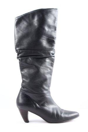 Buffalo Absatz Stiefel schwarz Casual-Look