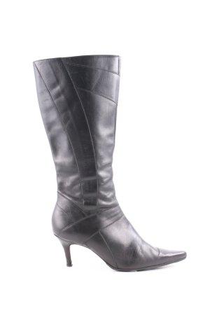 Buffalo Absatz Stiefel schwarz extravaganter Stil