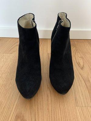 Buffalo Platform Booties black