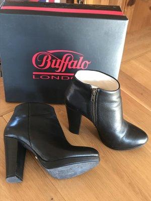 Buffalo London Botki czarny