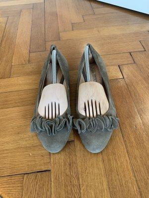 Buffalo Ballerines classiques gris brun-taupe