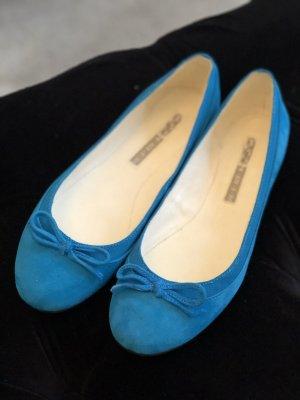 Buffalo Foldable Ballet Flats cadet blue