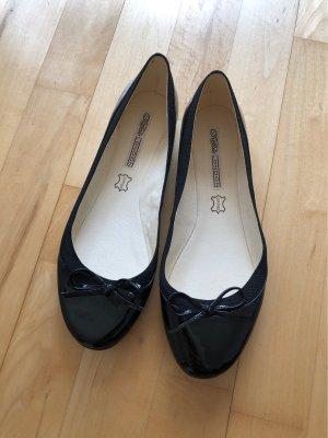 Buffalo Ballerinas schwarz Lack Gr. 40