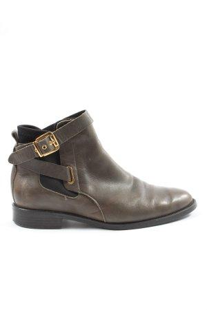 Buffalo Booties braun-goldfarben Casual-Look