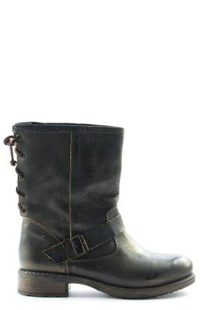 Buffalo Booties schwarz Casual-Look