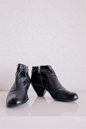 Buffalo Booties black-dark blue
