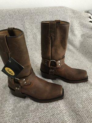 Buffalo Chukka boot bronze cuir