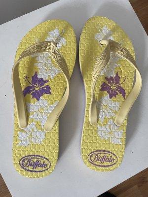 Buffalo bunte Sommer Flip Flops