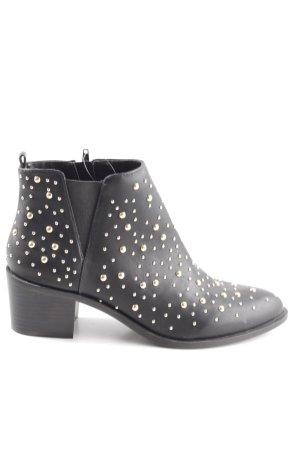 Buffalo Chelsea Boots schwarz Casual-Look