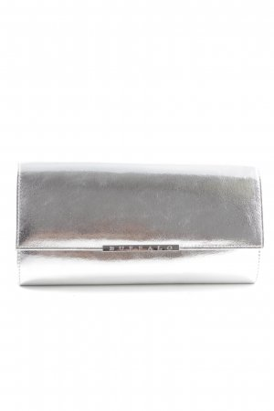 Buffalo Clutch silver-colored elegant