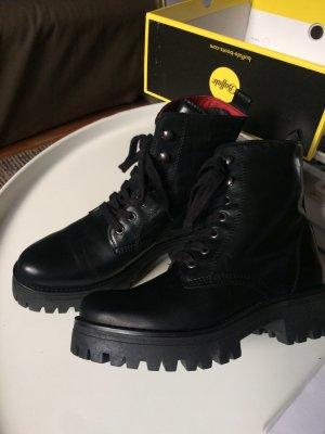 Buffalo Combat Boots, schwarz, cool, neu