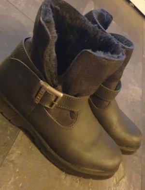 Buffalo London Slip-on laarzen zwart