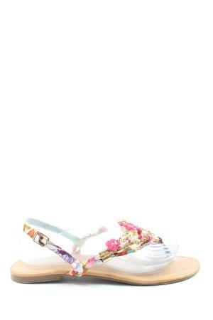 Buffalo Sandalo Dianette motivo floreale stile casual
