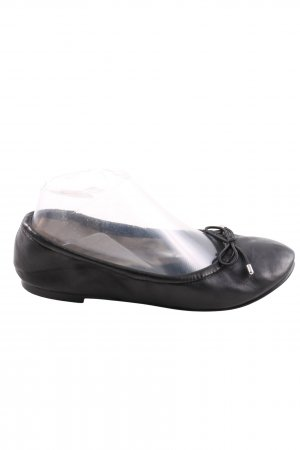Buffalo faltbare Ballerinas schwarz Casual-Look