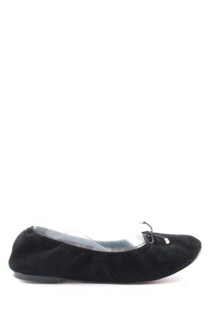 Buffalo Bailarinas plegables negro look casual