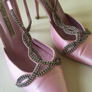 Buffalo Gala Abend Schuhe rosa Strass Wedding