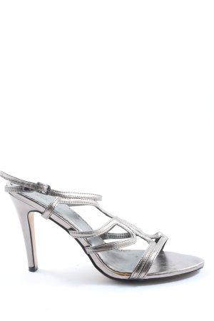 Buffalo girl Hoge hakken sandalen zilver elegant