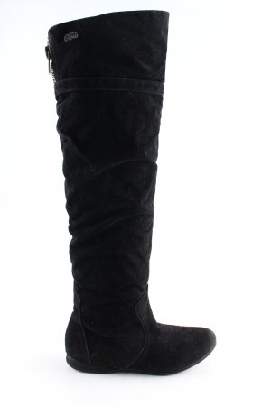 Buffalo girl Jackboots black casual look
