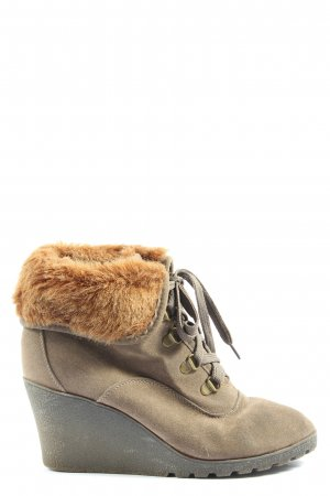 Buffalo girl Slouch Booties gold-colored-light orange casual look