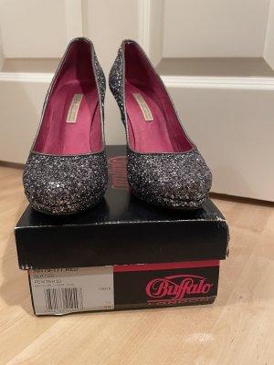 Buffalo glitzer high heels