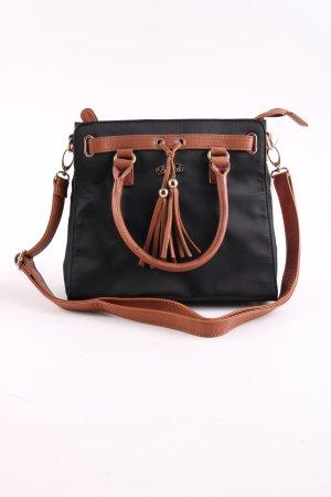Buffalo Handtasche schwarz-braun Casual-Look