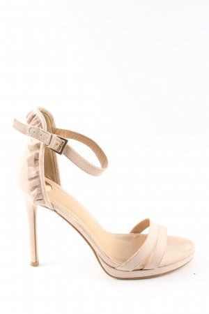Buffalo High Heel Sandal cream elegant