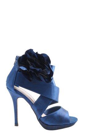Buffalo High Heel Sandaletten blau Elegant