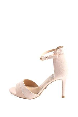Buffalo High Heel Sandaletten pink Casual-Look