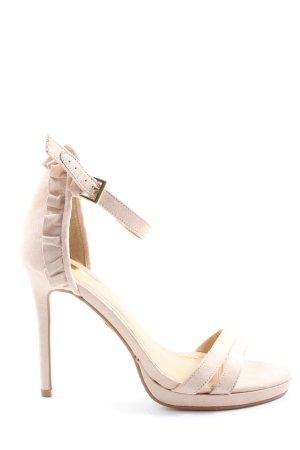 Buffalo High Heel Sandaletten creme Casual-Look