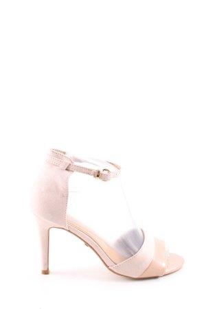 Buffalo High Heel Sandaletten nude-wollweiß Casual-Look