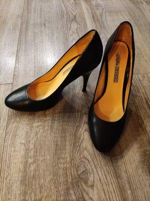 Buffalo High Heel schwarz Gr 39