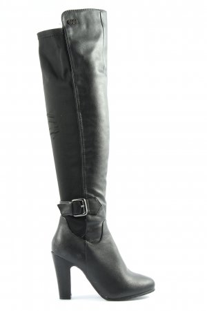 Buffalo High Heel Boots black elegant