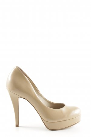 Buffalo High Heels creme Business-Look