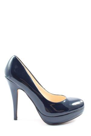 Buffalo High Heels blau Business-Look
