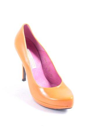Buffalo High Heels orange