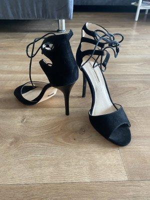 Buffalo high heels Pumps mit schnürung am Knöchel Gr 41