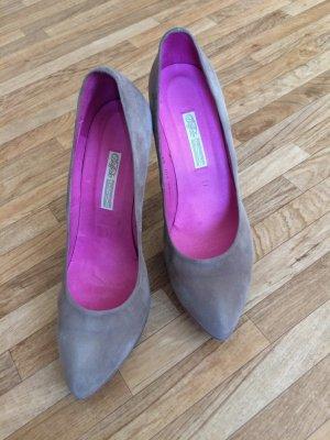 Buffalo High Heels, taupe