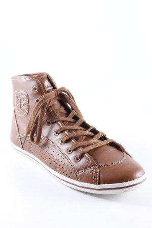 Buffalo High Top Sneaker braun Casual-Look