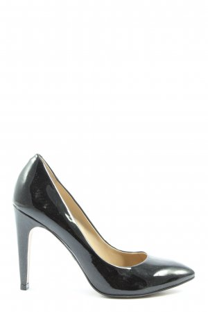 Buffalo High-Front Pumps black business style