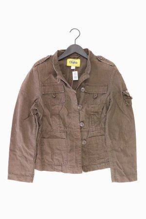 Buffalo Jacke Größe 42 braun aus Baumwolle