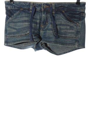 Buffalo Short en jean bleu style décontracté