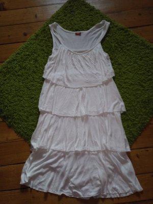Buffalo Kleid weiß Größe 36/38