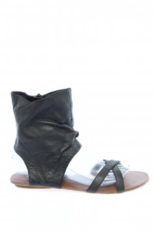 Buffalo Comfort Sandals black casual look