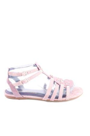 Buffalo Komfort-Sandalen pink Casual-Look