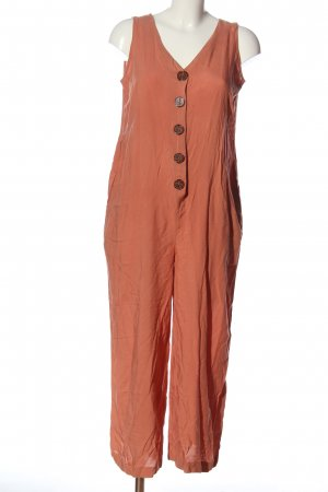 Buffalo Langer Jumpsuit rood casual uitstraling