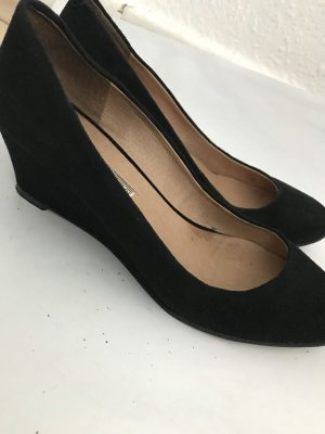 Buffalo Platform Sandals black
