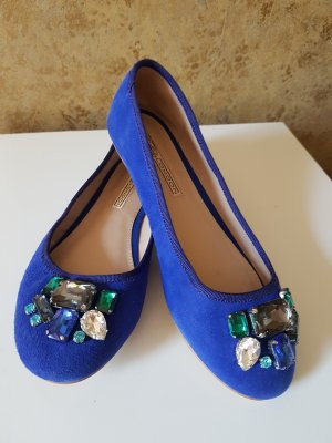 Buffalo London Ballerina Mary Jane blu