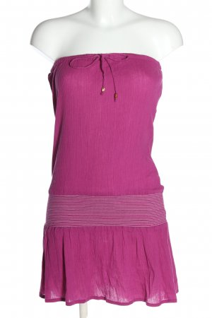 Buffalo London Bandeaukleid pink Casual-Look