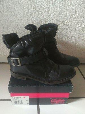 Buffalo London Bottine d'hiver noir cuir